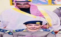 ترقية عبدالله علي العلياني الى ملازم اول