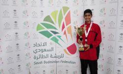 أيمن محمد حمود العلياني يمثل المنتخب السعودي في ايطاليا