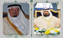 الشيخ صالح بن سحمان يتطّمن على صحة الشيخ تركي العسبلي
